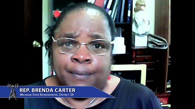 State Representative Brenda Carter di...