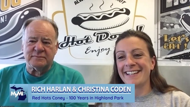 Red Hots Coney Island 100 years - Rich and Christina - Sep 10, 2021