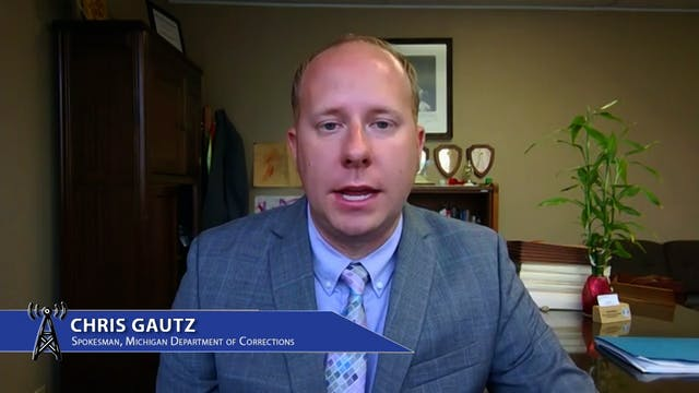Chris Gautz of the Michigan Departmen...