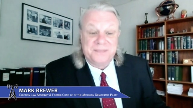 Mark Brewer, former Michigan Democratic Party Chair, talks voting laws