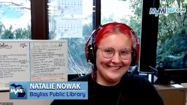 Natalie Nowak from Bayliss Public Library - Lehto Live - Oct. 14th