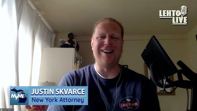 NY Attorney Justin Skvarce tells his ...
