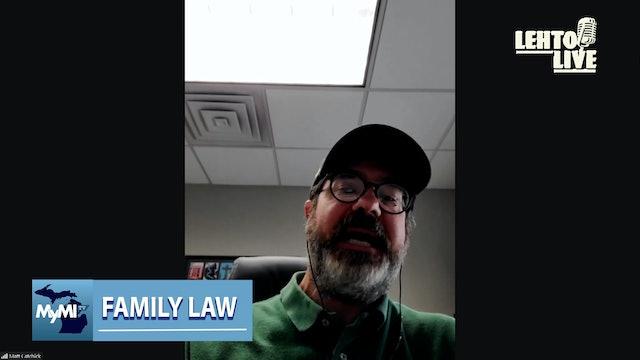 Atty. Matt Catchick talks Family Law - Lehto Live - Oct. 15th