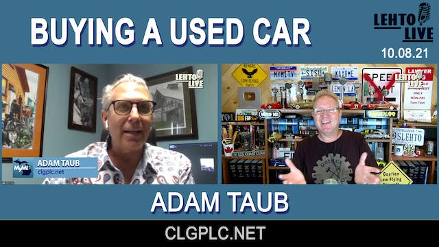 Buying a Used Car with Adam Taub - Le...