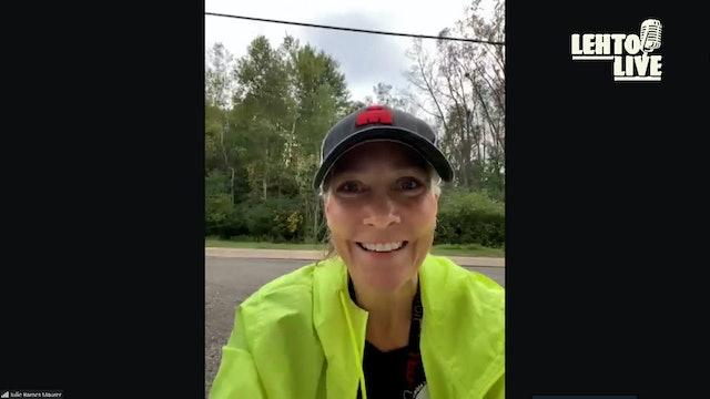 Detroit Free Press Marathon Preview with Julie Maurer - Lehto Live - Oct. 14th