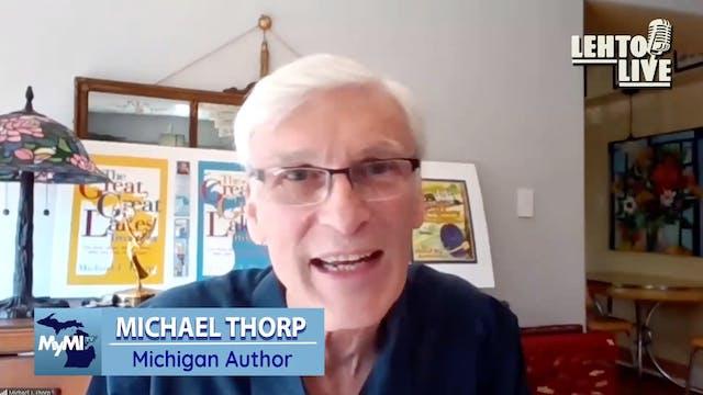 Author Michael Thorp - Lehto Live - S...