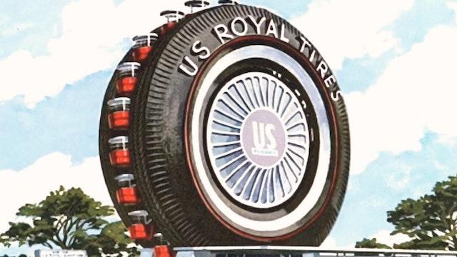 The Giant Uniroyal Tire (Ferris Wheel)