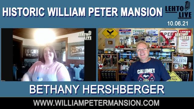 Historic William Peter Mansion in Columbiaville, MI - Lehto Live - Oct, 6th