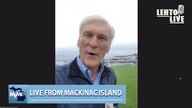 Live from Mackinac Island - Author Michael J Thorp - Lehto 10.4.2021