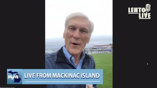 Live from Mackinac Island - Author Mi...