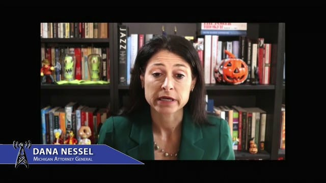 Michigan Attorney General Dana Nessel...