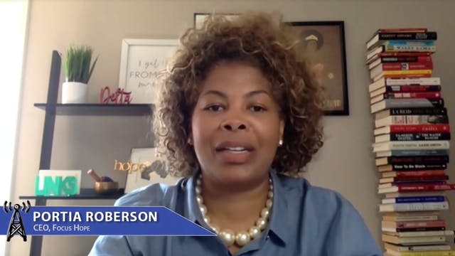 Focus Hope's CEO Portia Roberson