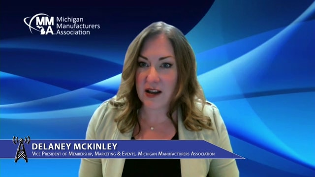 Delaney McKinley of Michigan Manufacturers Association discusses MFG Excellence