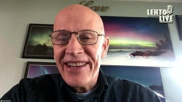 Talking U.P. Weather Stories with Karl Bohnak - Lehto Live - Sep. 24th, 2021
