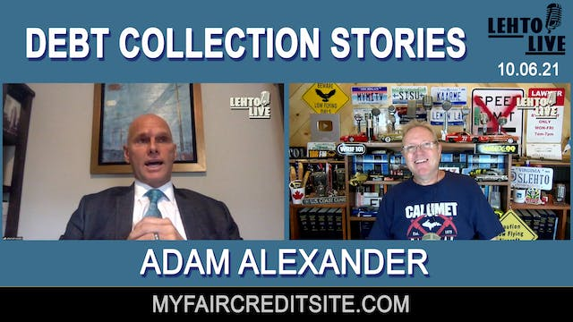 Debt Collection Stories with Adam Ale...
