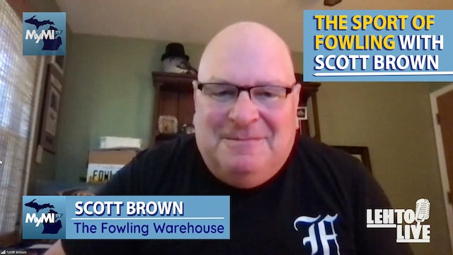 Talking Fowling with Scott Brown - Lehto Live - September 1st
