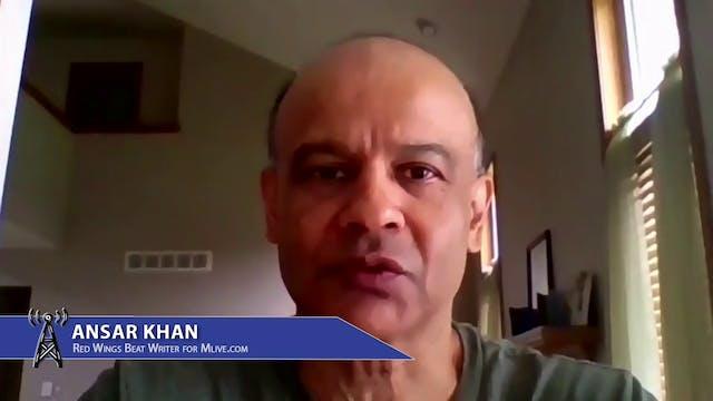 Ansar Khan, Red Wings Beat Writer, pr...
