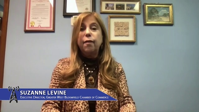 Executive Director, Greater West Bloomfield Chamber of Commerce Suzanne Levine