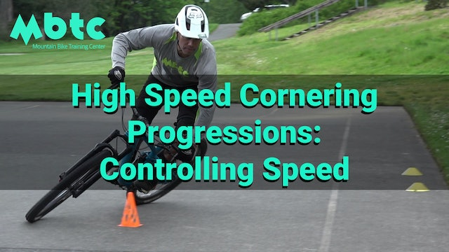 High Speed Corners: Speed control