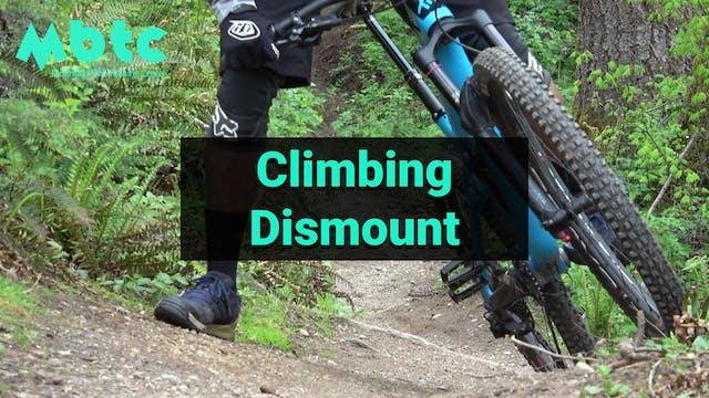 Climbing Dismount