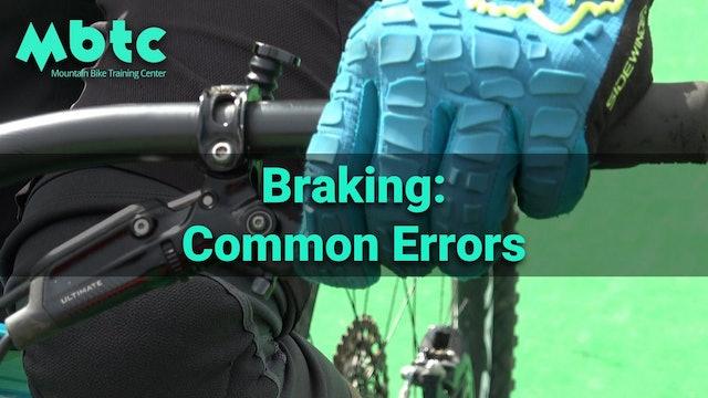 Braking: common errors