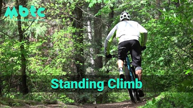 Standing climbing