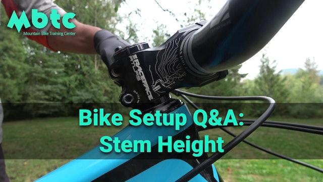 stem height