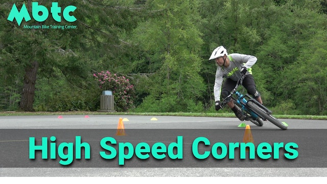 Cornering: High speed