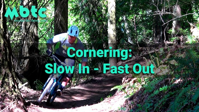 Cornering progressions: slow in fast out
