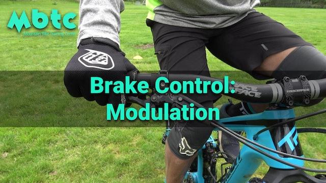 Brake control: modulation