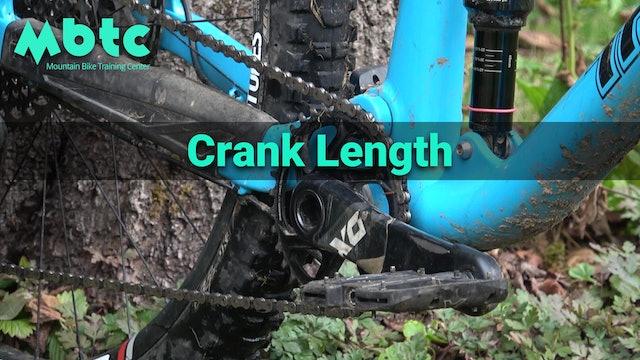 Bike setup: Crank Length