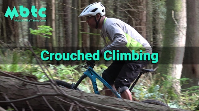 Crouched Climbing