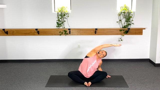 5 Minute Stretch (#4) with Stephanie