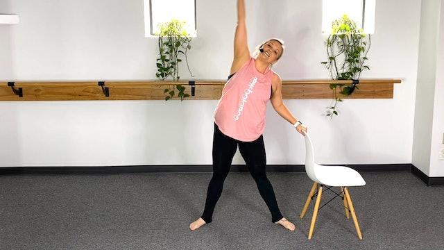 5 Minute Stretch (#5) with Stephanie
