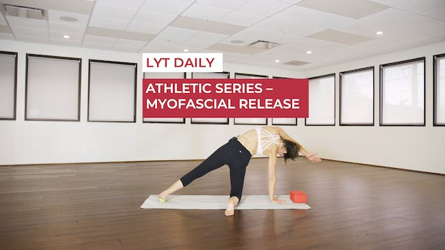 ATHLETIC SERIES - MYOFASCIAL RELEASE