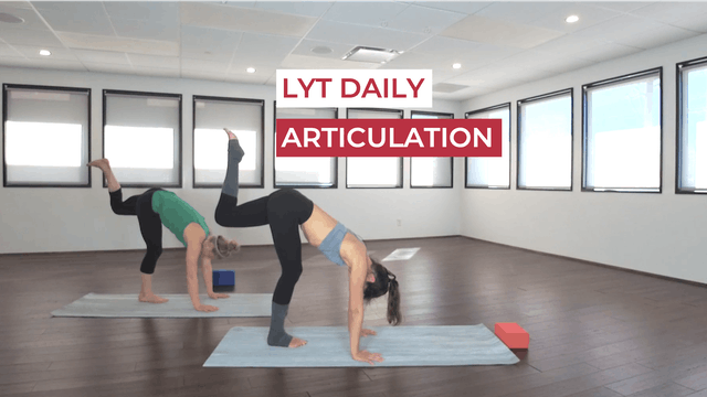 TUESDAY: ARTICULATION