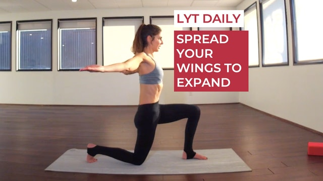 SPREAD YOUR WINGS TO EXPAND