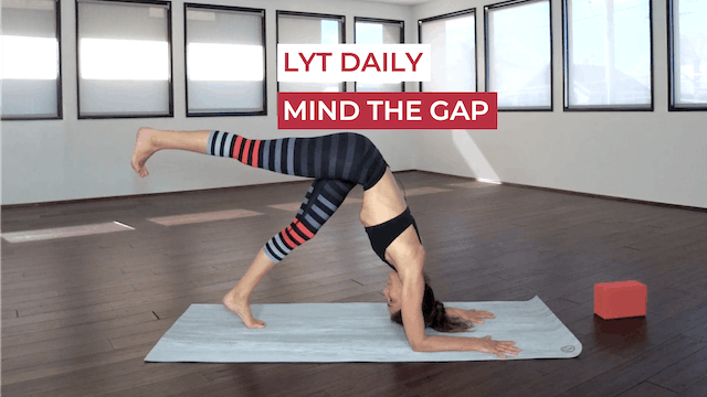 WEDNESDAY: MIND THE GAP