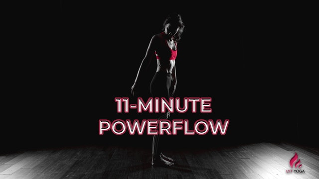 11-Minute Powerflow Series Video 4 - Get On Your Hands