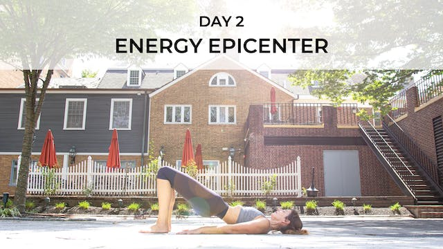 DAY 2: ENERGY EPICENTER