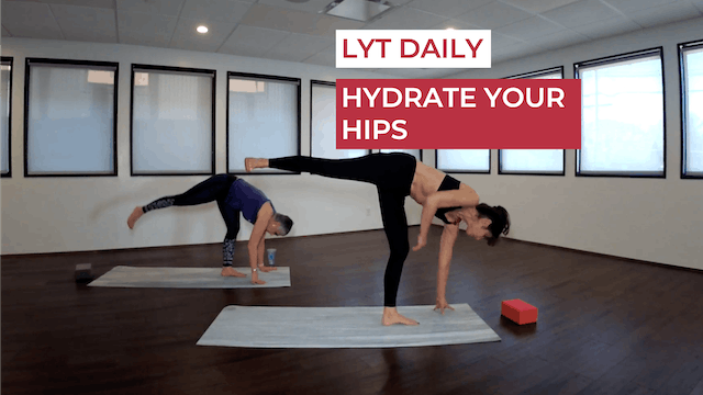 HYDRATE YOUR HIPS