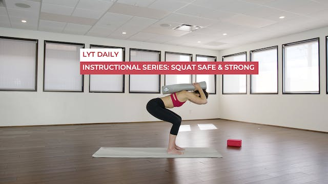 INSTRUCTIONAL SERIES - SQUAT SAFE & S...