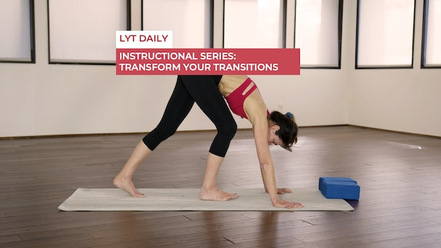 INSTRUCTIONAL SERIES: TRANSFORM YOUR TRANSITIONS