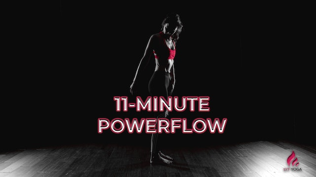 11-Minute Powerflow Series Video 2 - Glutes