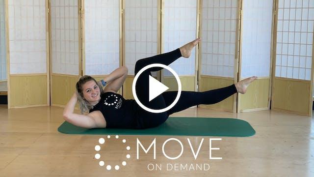 Mat Pilates Level 2 with Natalie | 4 Class Series