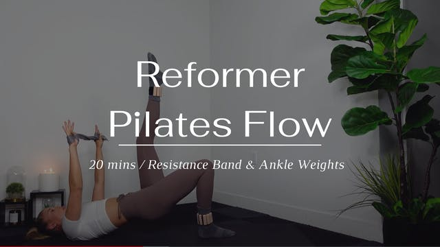 Reformer Pilates Flow