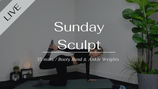 Sunday Sculpt 03/21