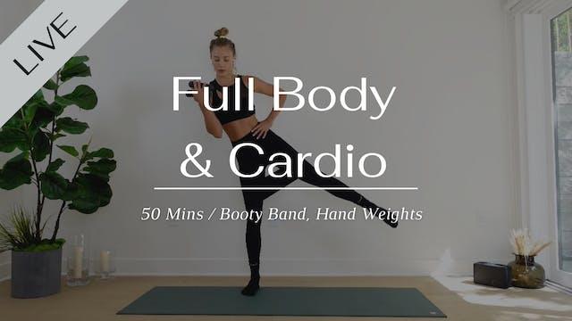 Full body w/cardio