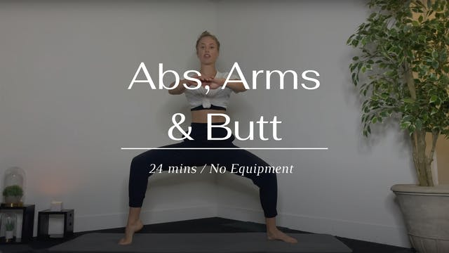 Abs, Arms & Butt