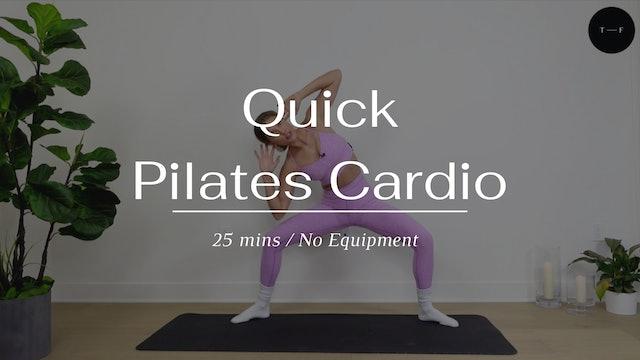 Quick Pilates Cardio